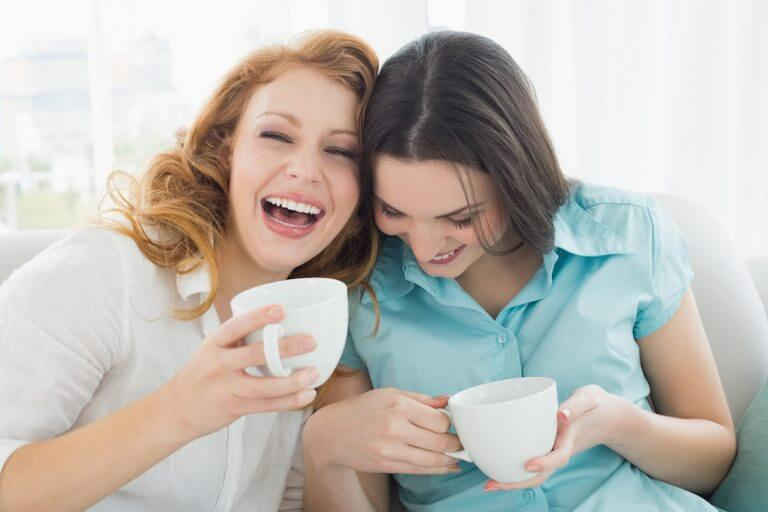 Tag ud med vennerne for god overgangsalder