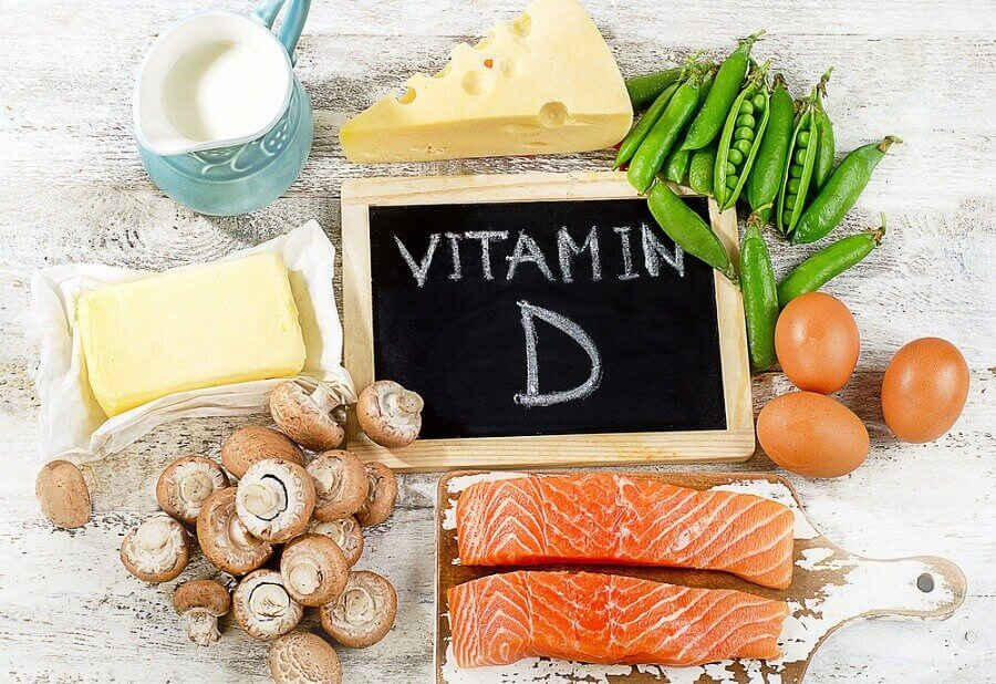 Foedevarer med vitamin D