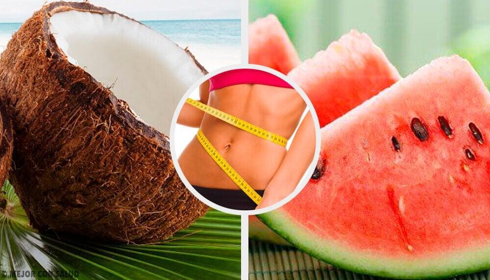 Vil du også vide hvilke frugter, der forbrænder fedt?