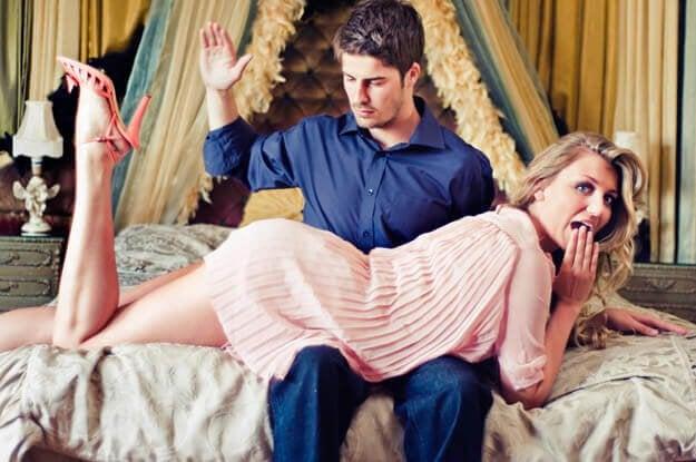 Hvad er erotisk spanking?