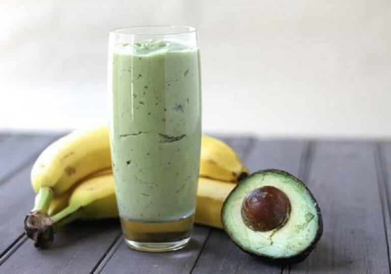 Frugt og smoothie