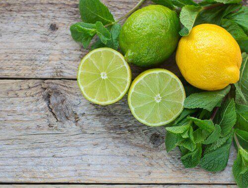 Lime og citron
