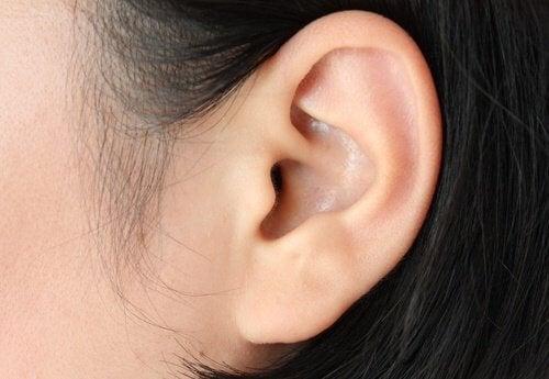 Kvindes øre