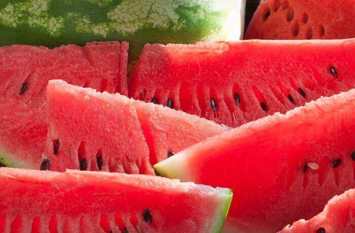 Vandmelon - fantastiske frugtsmoothies