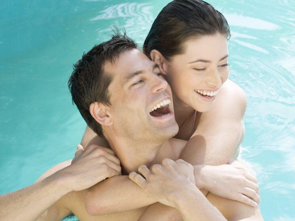 Par der er i pool