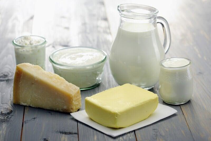 Mejeriprodukter med dårligt kolesterol