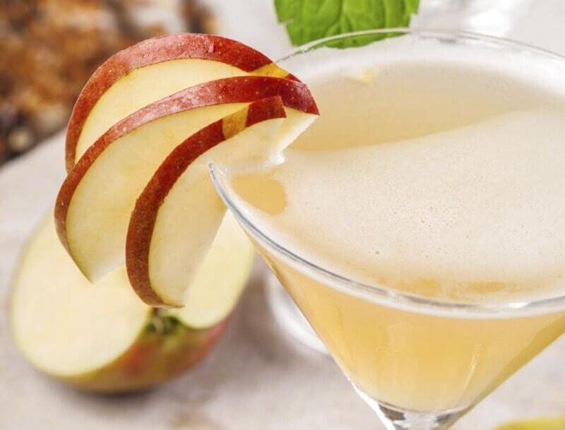 Æblejuice for fladere mave
