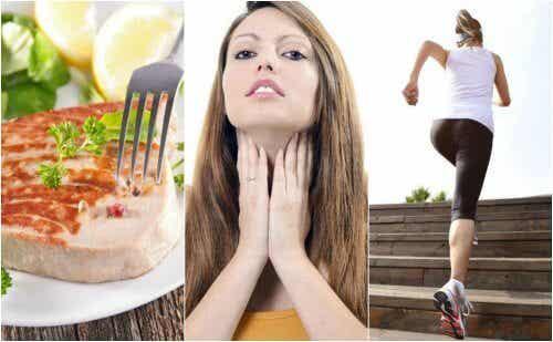 6 sundhedstips til forbedring af skjoldbruskkirtlen