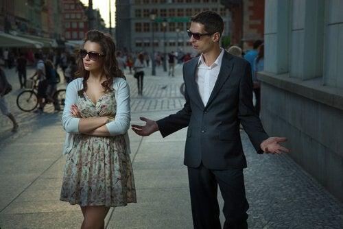 Par der er uvenner - problemer i et forhold