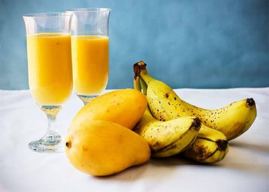 Banan og mango