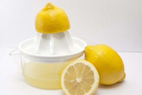 Citronsaft og persille
