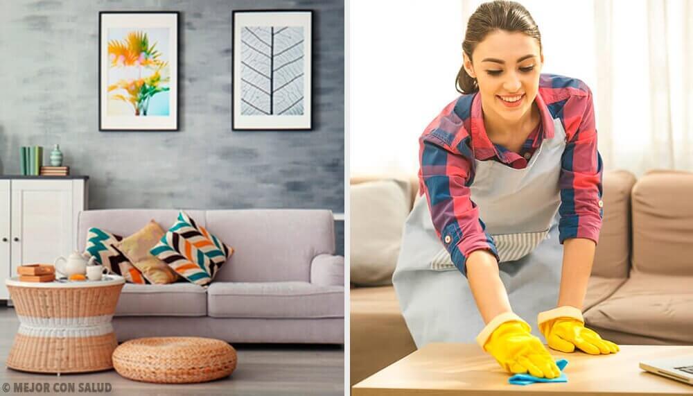 5 rengøringsvaner til at holde dit hjem rent og ryddeligt
