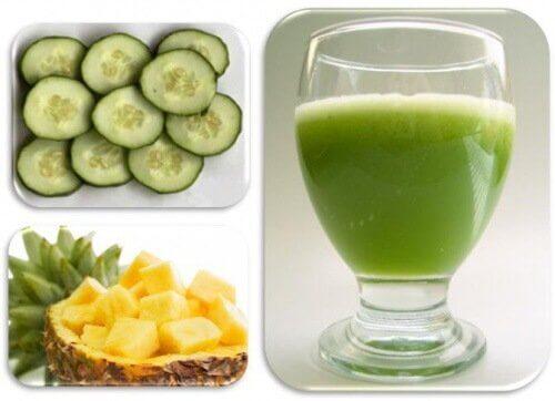Frugt og groent og smoothie - fantastiske frugtsmoothies