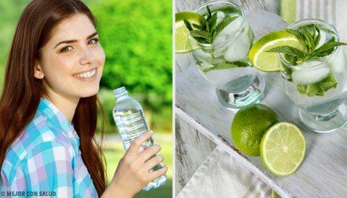 7 enkle måder at drikke mere vand