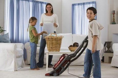 Familie der goer rent - holde dit hjem rent