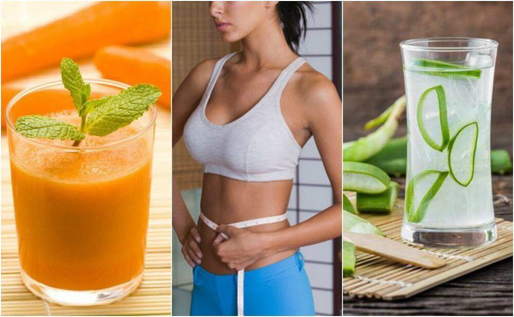 5 juicer, der hjælper dig til en fladere mave