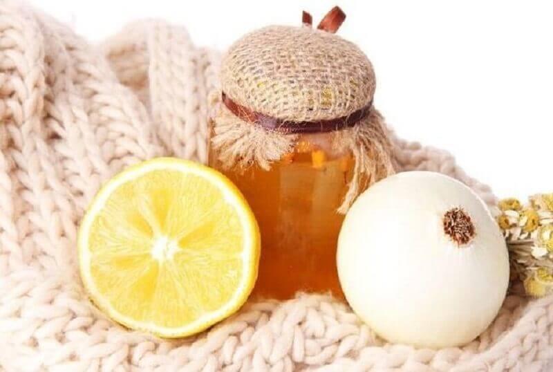 Honning, citron og løg
