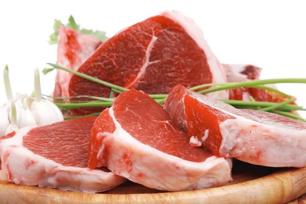 Rødt kød har en negativ påvirking paå helbredet