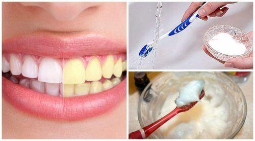 Naturlig tandpasta med natron