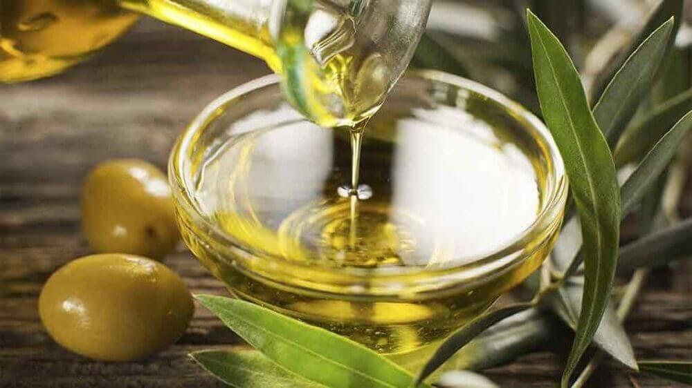Olivenolie ansigtsmaske