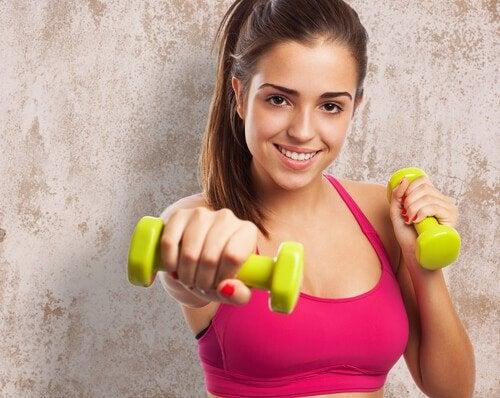 7 øvelser til at tone din krop på 4 uger
