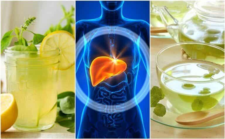Rens din lever mens du sover med disse 5 drikkevarer