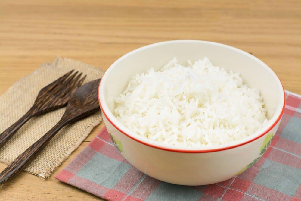 Ris i en skaal