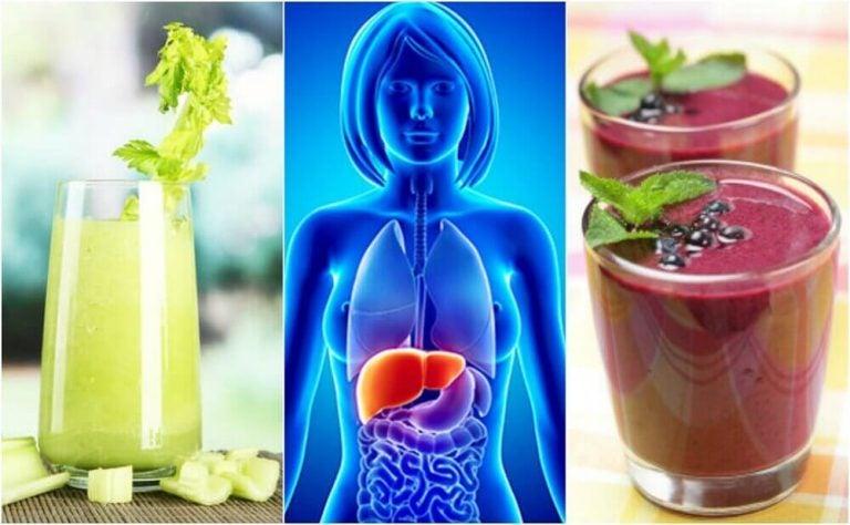 Prøv de her 4 sunde frugt og grøntsagsmoothies