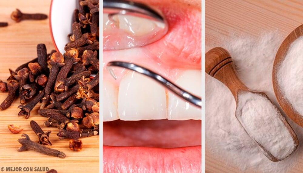 Slip af med tandkødsbetændelse med disse naturlige midler