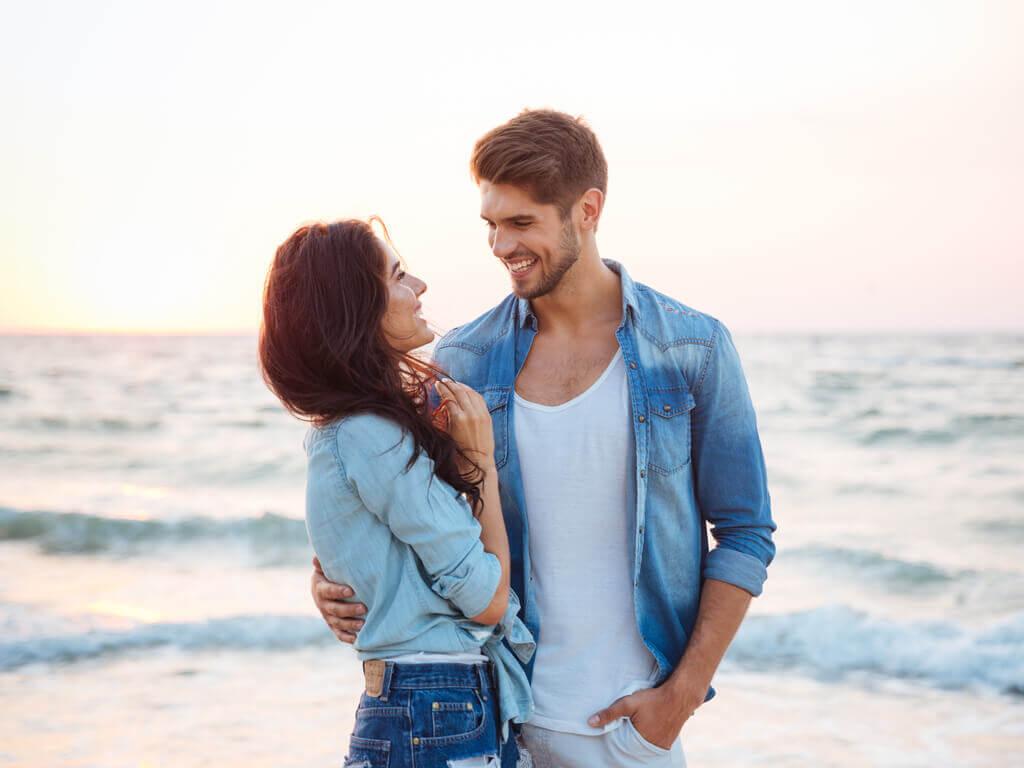 Par der er paa stranden