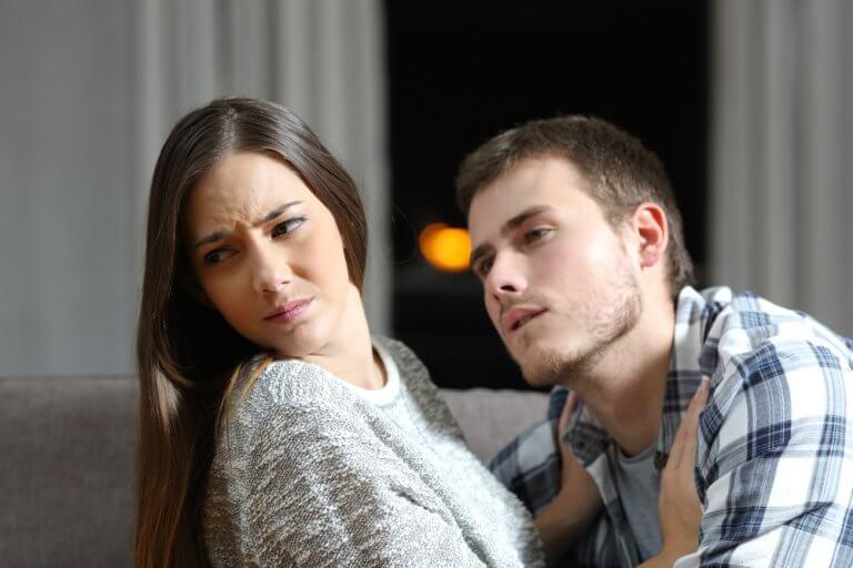Kvinde afviser mand