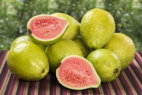 Friske frugter - lavt blodplade niveau
