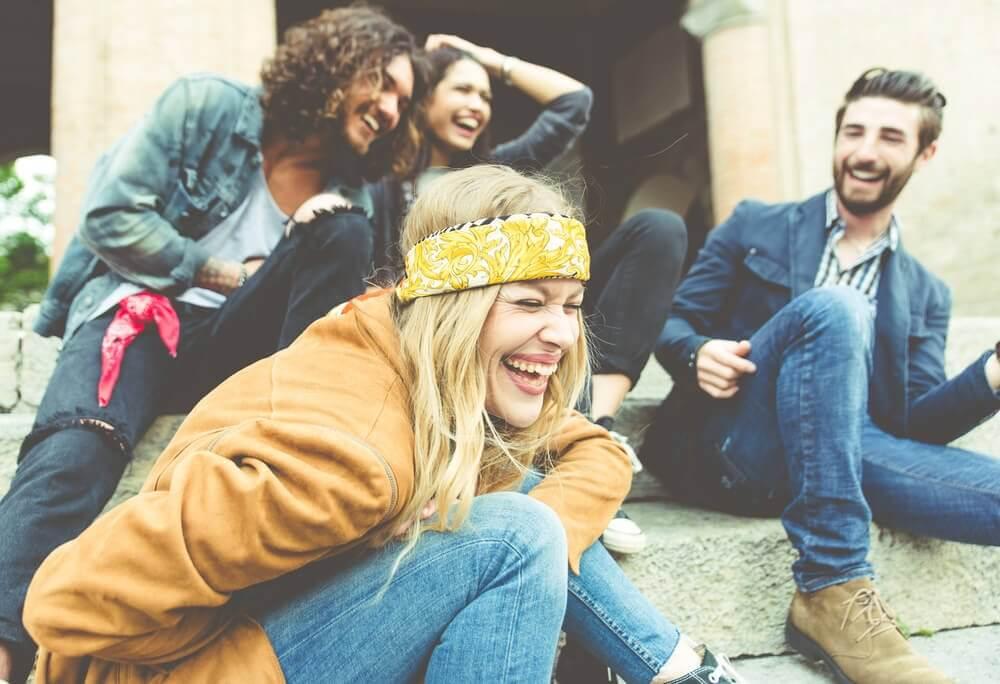 Glade mennesker - stress og angst