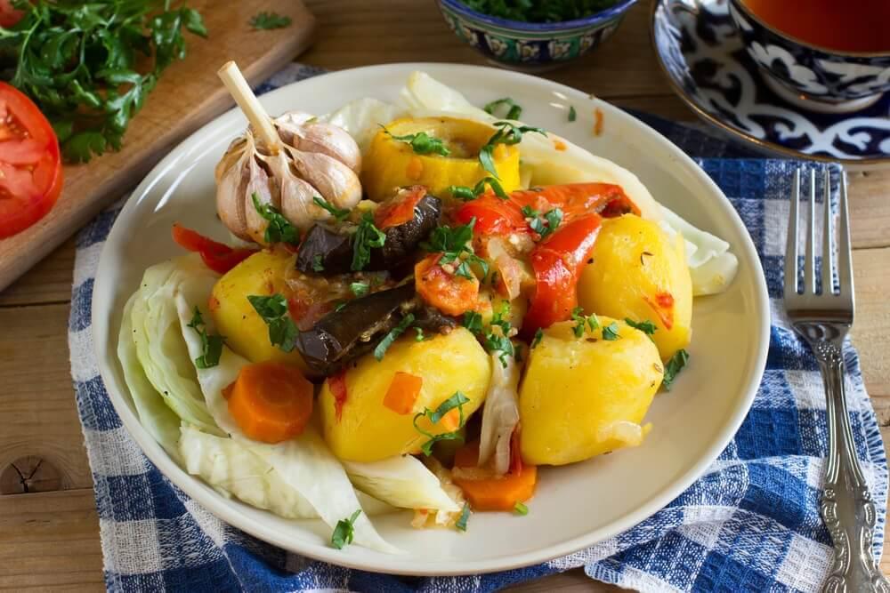 Bagte groentsager - hurtige aftensmadsideer