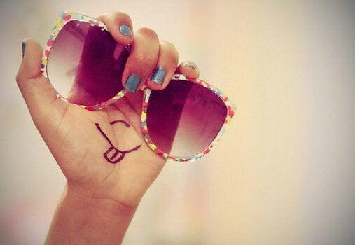 Solbriller - tilgiver dig selv