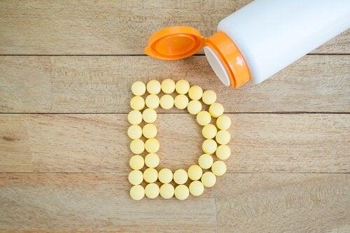D vitamin - vitaminer til hårvækst