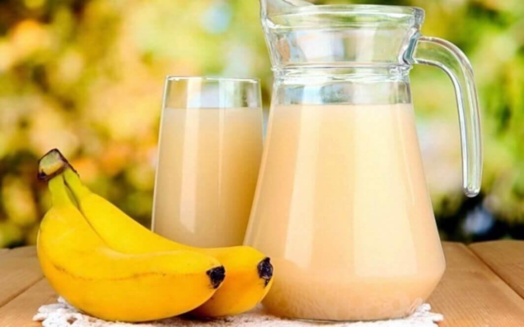 Bananer og juice