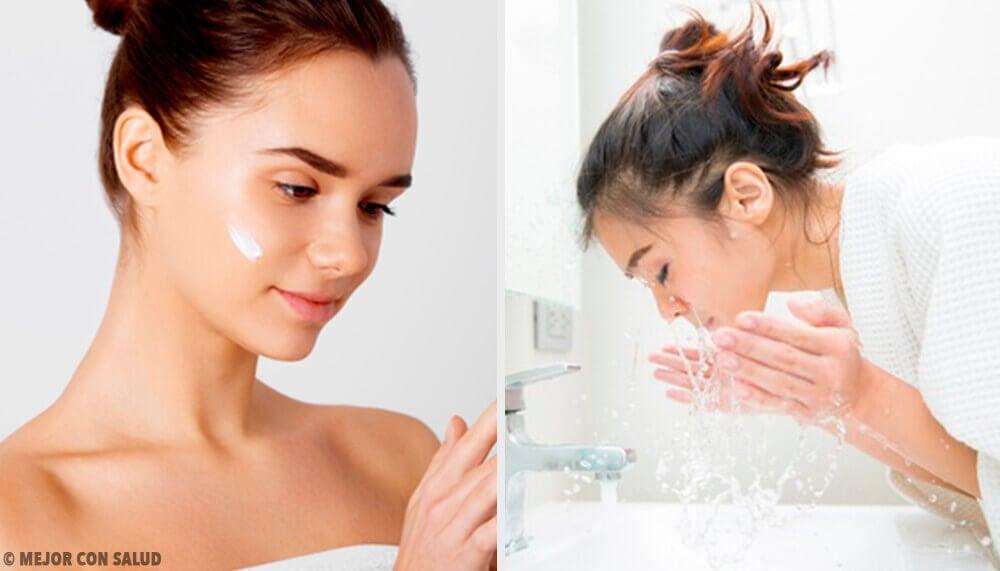 Fem fejl du begår, når du vasker dit ansigt