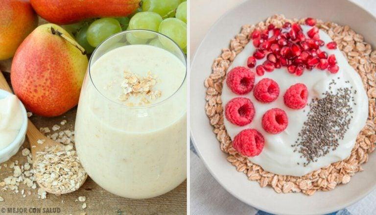 4 slags morgenmad med havregryn der øger stofskiftet