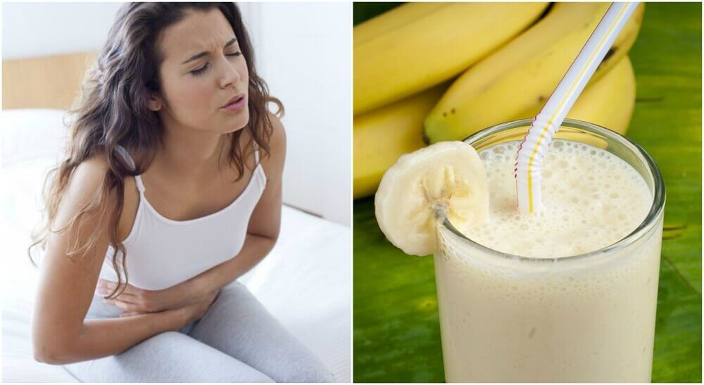 Forebyg mavesår med kartoffel og banan smoothies