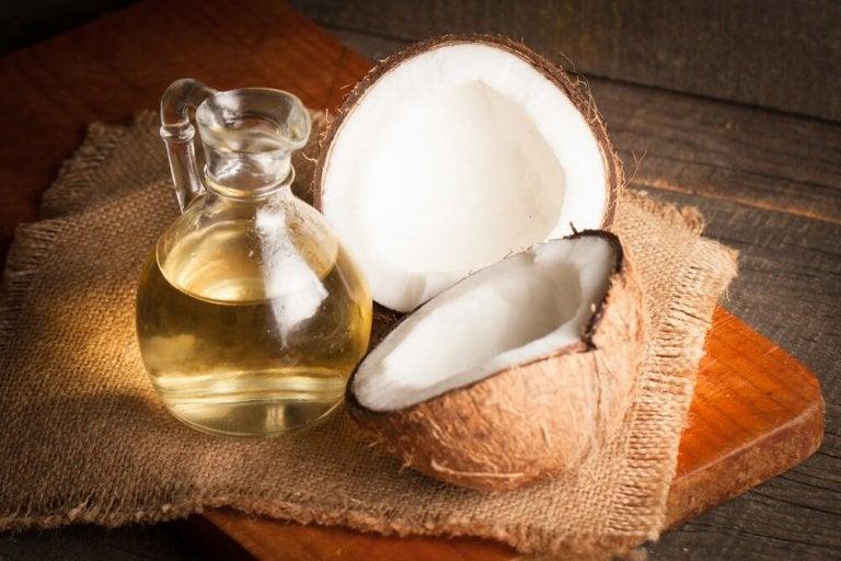 Kokosolie - bekaemp svamp