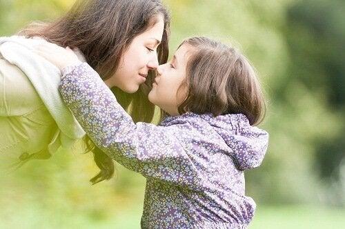Kvinde med barn