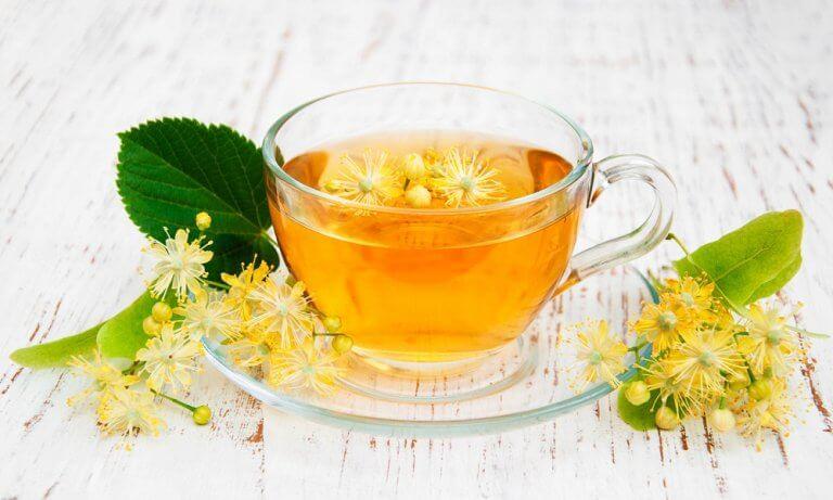 Lime blomst te