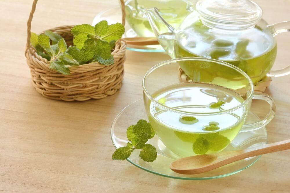 Mynte te - detoxe din tyktarm