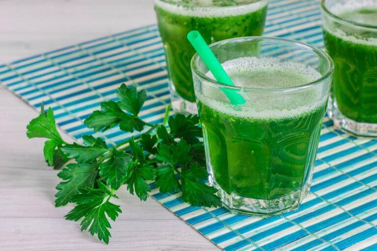 Persille detox smoothie - smoothies der renser