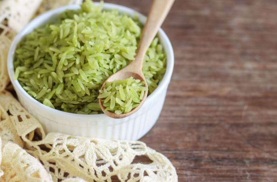 Prøv denne lækre grønne ris opskrift