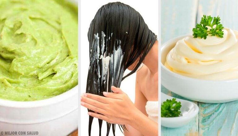 5 hårmasker til skinnende, silkeblødt hår