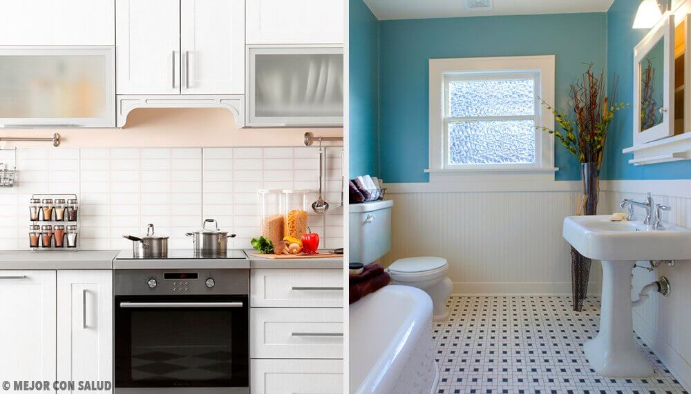 Hjemmemidler til et lugtfrit køkken og badeværelse