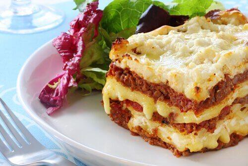 To nemme måder at tilberede lasagne på