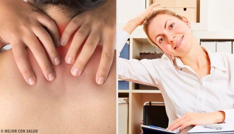 6 simple øvelser til at lindre nakkesmerter